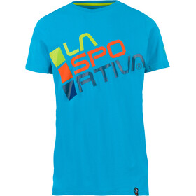 La Sportiva Square Shortsleeve Shirt Men turquoise